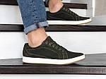 Чоловічі кросівки Wrangler (темно-зелені) 9086, фото 5