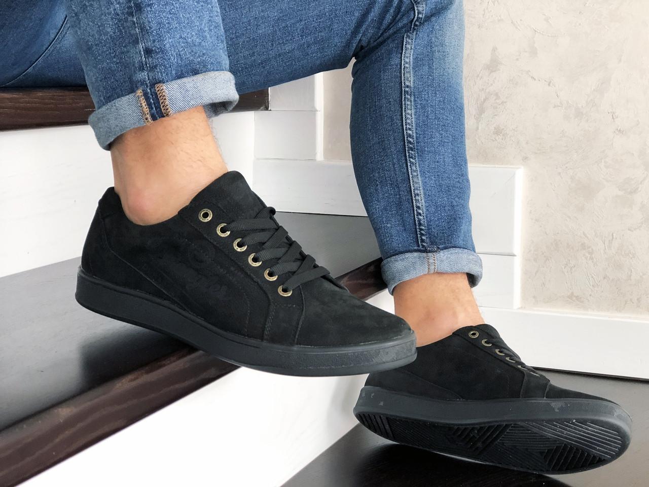 Чоловічі кросівки Wrangler (чорні) 9087