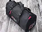 Спортивна сумка PH УНІСЕКС (чорна) 1249, фото 2