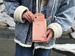 Жіноча сумка-гаманець (пудра) 1247, фото 3