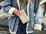 Жіноча сумка-гаманець (бежева) 1245, фото 3