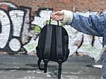 Жіночий рюкзак міський Puma (чорний) 1239, фото 2