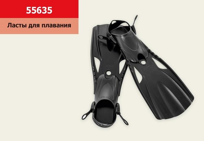 Ласты для плавания 55635 Intex, р.41-45 ласти LARGE SUPER SPORT FINS
