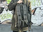 Чоловічий військовий оксфорд, якісний рюкзак (хакі) 1231, фото 2