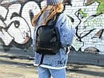 Жіночий рюкзак міський Calvin Klein (чорний) 1230, фото 3