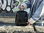 Жіночий рюкзак міський Calvin Klein (чорний) 1230, фото 5