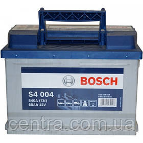 Автомобильный аккумулятор Bosch 6CT-60 S4 (S4 004)