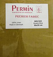 Ткань равномерная Permin (50 х 35) Riviera Olive