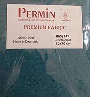 Ткань равномерная Permin (50 х 70) Riviera Aqua