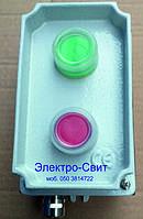 Пост управления, двухместный, пыле-масло-водозащищенный, SP22-K1M/, СПАМЕЛ,IP65, IP67