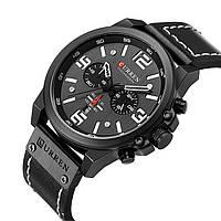 Часы CURREN 8314 Chronograph Black Edition 47mm (Quartz)., фото 1