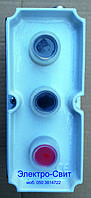 Пост управления, ТРЕХместный, пыле-масло-водозащищенный, SP22-K3M/, СПАМЕЛ,IP56