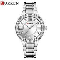 Часы CURREN 9004 All Silver 36mm (Quartz)., фото 1