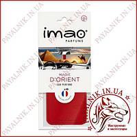 """Ароматизированная карта (освежитель воздуха) IMAO """"MAGIE DORIENT"""" 11g. Made in France."""
