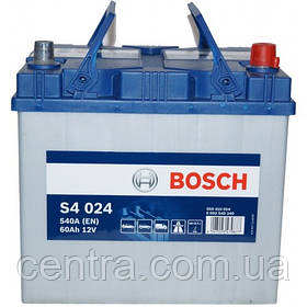 Автомобильный аккумулятор Bosch 6CT-60 S4 (S4 024)