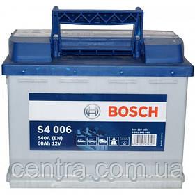 Автомобильный аккумулятор Bosch 6CT-60 S4 (S4 006)