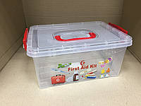 Аптечка-органайзер для медикаментов (ящик) Турция, фото 1