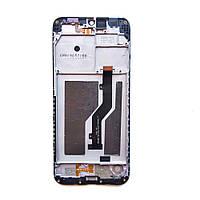 ZTE Blade A7 2019 дисплейный модуль с рамкой (экран + тачскрин + рамка фрейм) модель SC9863A или P963F02