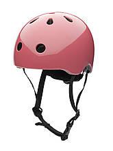 Детский велосипедный шлем ТМ Trybike Coconut, 47-53 см цвет розовый