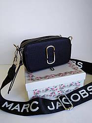 Сумка кожаная женская Marc Jacobs маленькая черная