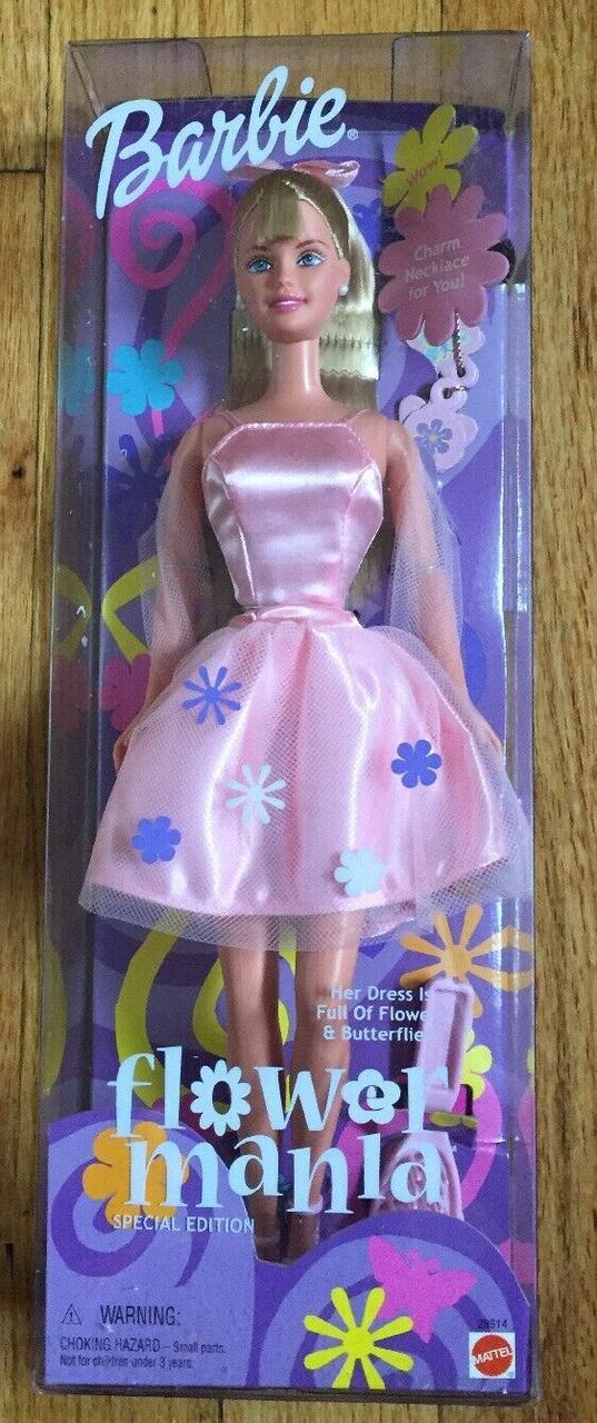 Кукла Барби Коллекционная Цветочная Мания 2000 г.