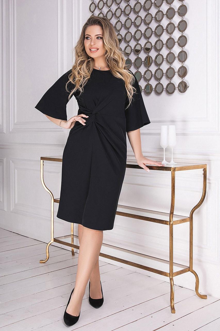 Платье классика черное