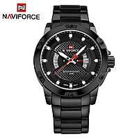 Часы NAVIFORCE NF9085 Black Edition 45mm Quartz.