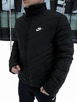 "Зимняя Куртка Чёрная Nike, Найк, ""Трансформер"""