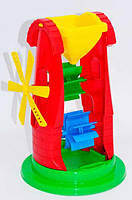"""Детская мельница для игры с песком и водой 1 2735 (14) """"ТЕХНОК"""""""