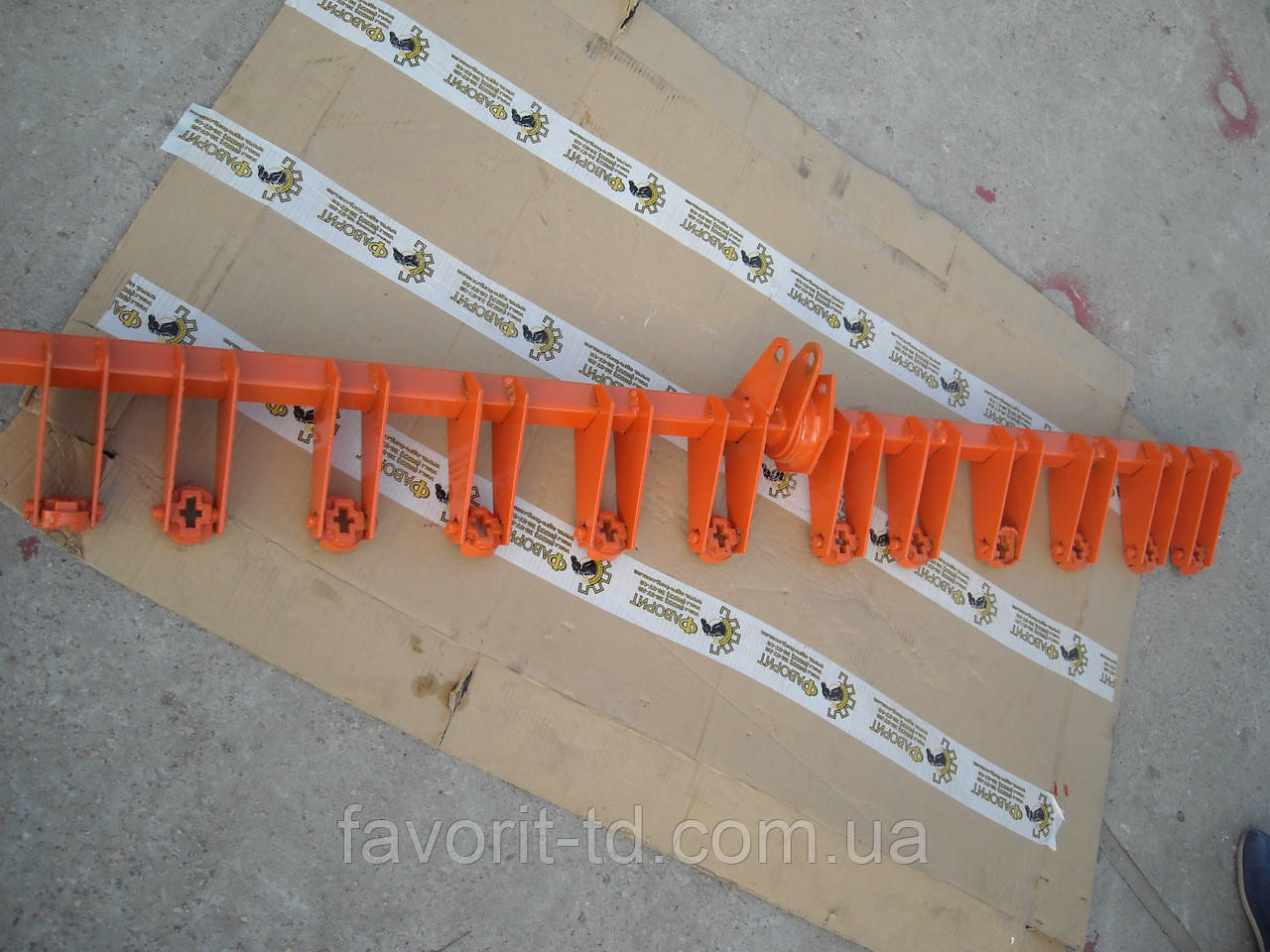 Вал подйома сошников ОЗШ 00.340Б сеялки СЗ-5,4