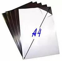 А4 магнитный винил с клеевым слоем 0,4 мм