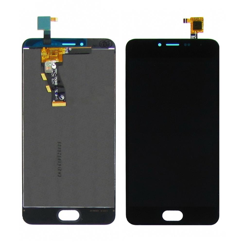 Дисплей для Meizu M3 Mini M688 с сенсором Черный (DH0722)