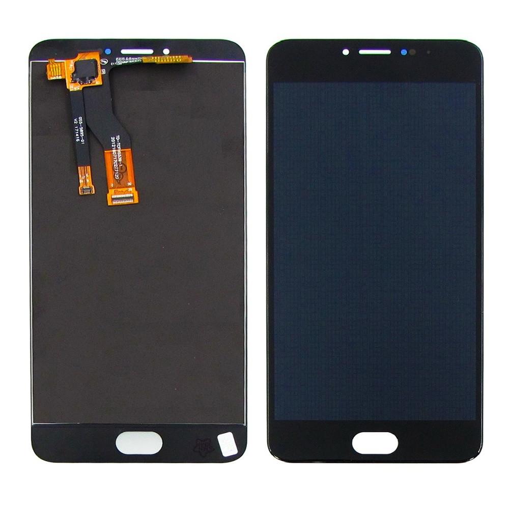 Дисплей для Meizu M3 Note M681 с сенсором Черный (DH0724)