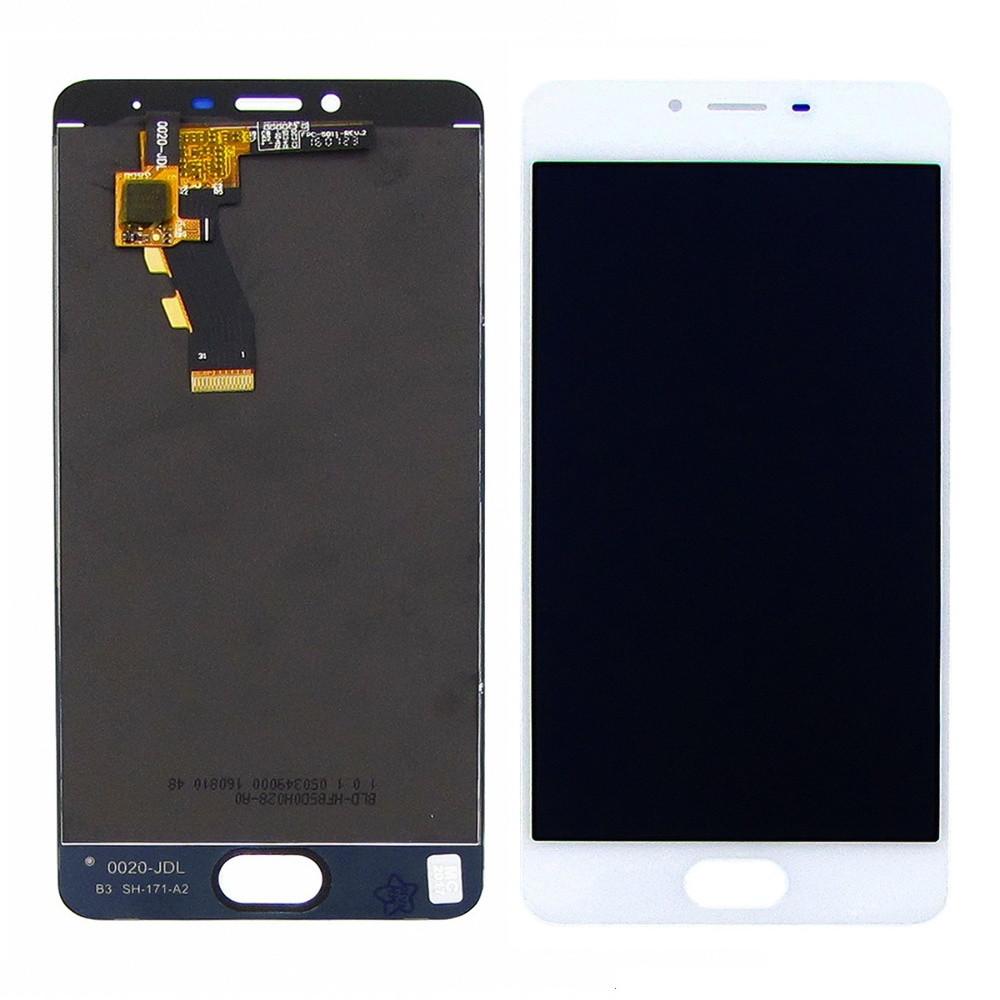 Дисплей для Meizu M3s Y685 с сенсором Белый (DH0726)