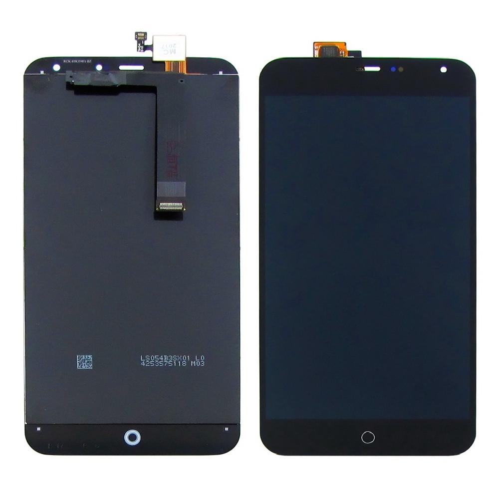 Дисплей для Meizu MX4 M461 с сенсором Черный (DH0738)