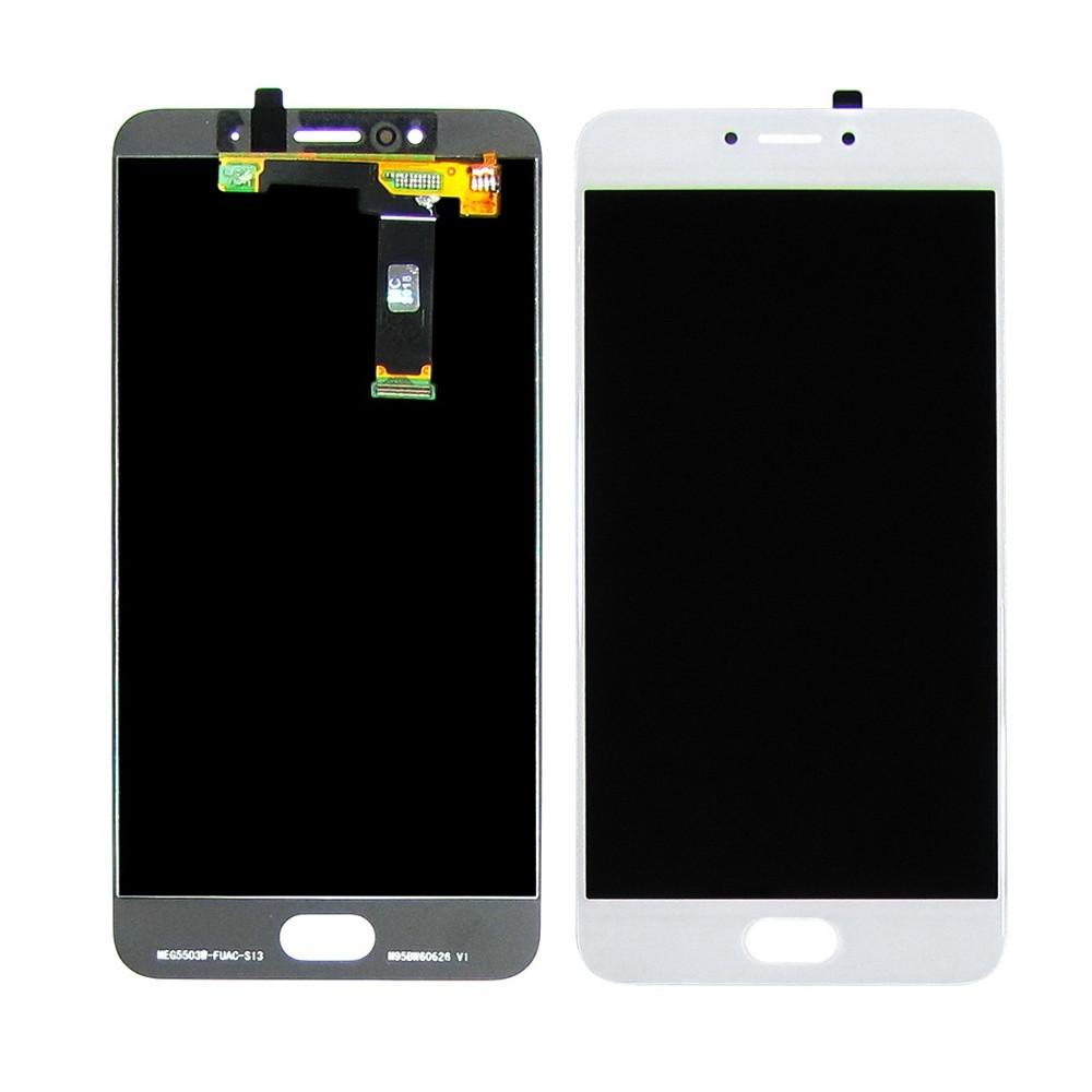 Дисплей для Meizu MX6 M685 с сенсором Белый (DH0741)