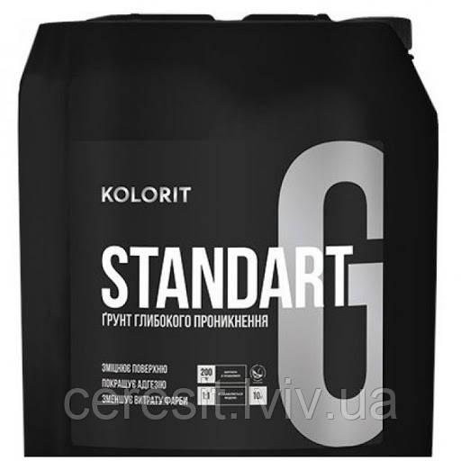 Колорит Standart грунт 10 L
