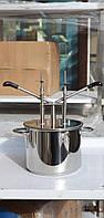 Дозатор-наполнитель ручной для крема и начинки  Vektor-01 две иглы (Польша), фото 1