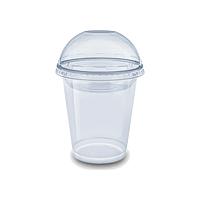 Стакан купольный для коктейлей и смузи - 420 мл, 50 шт.