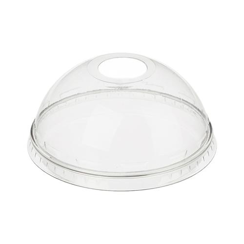 Крышка универсальная с отверстием на купольный стакан  - 50 шт.