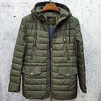 Мужская удлинённая демисезонная куртка Vivacana 66SS102