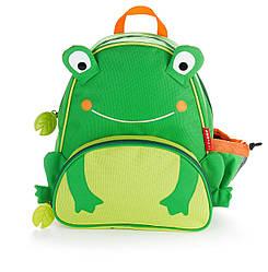 Детский рюкзак Skip Hop Zoo Pack (Zoo Little Kid Backpack) - Frog (Лягушка), 3+