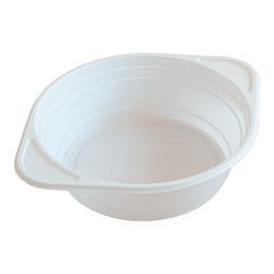 Тарелка одноразовая глубокая, миска - 500 мл, 100 шт.