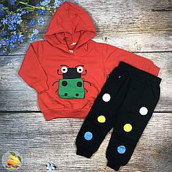 Детский костюм с капюшоном для девочки Размеры: 1,2,3,4 года (20224-1)