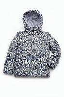 Детская утепленная куртка-жилет 2 в 1 для мальчика, фото 1