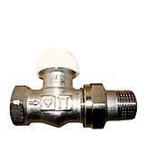 """Термостатичний клапан для радіатора прямий Herz-TS-90 1/2"""""""