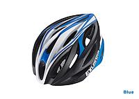 Шлем EXUSTAR BHM113 размер M/L 58-61см голубой , красный, фото 1