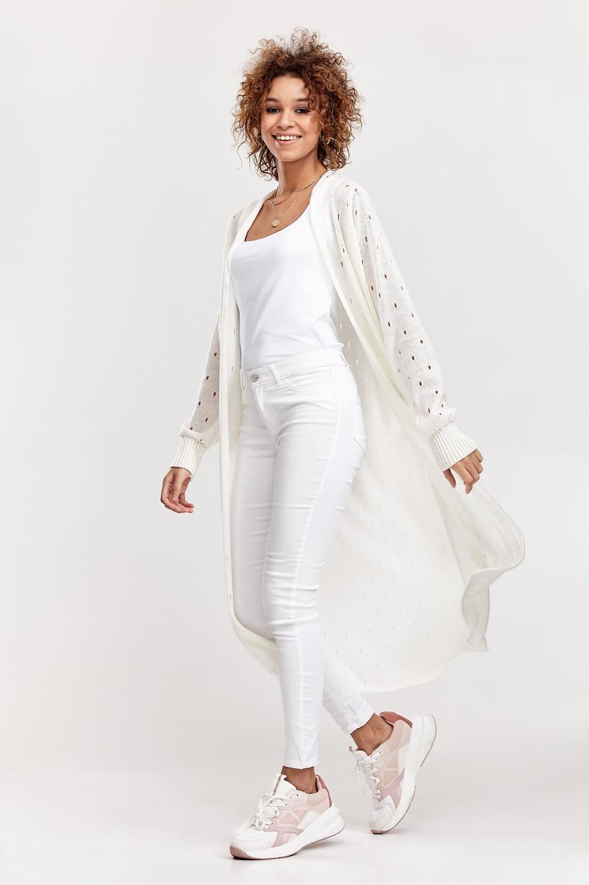 Модный легкий кардиган  44-48 размер 2020