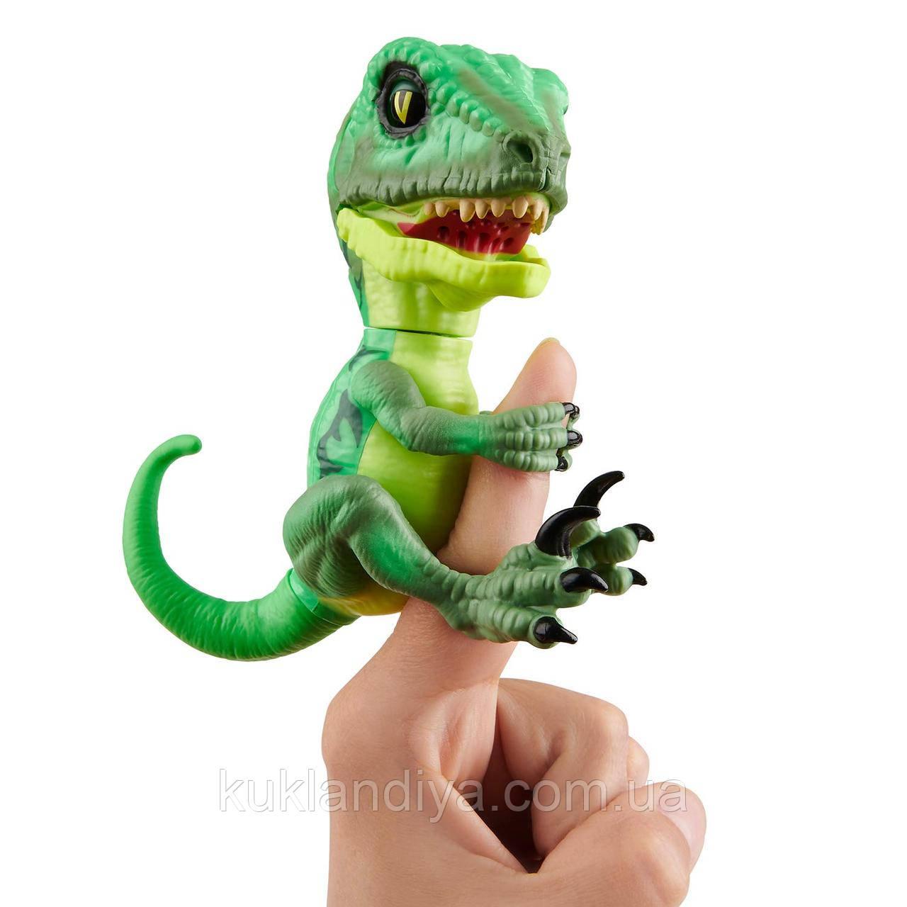 Інтерактивний ручної динозавр Raptor Untamed WowWee by Fingerlings (3782)
