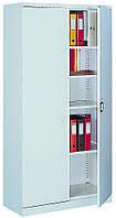 Металлический офисный шкаф с тайником